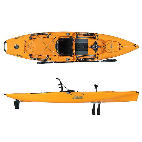 Hobie Mirage Outback Kayak 2020, Papaya, 600