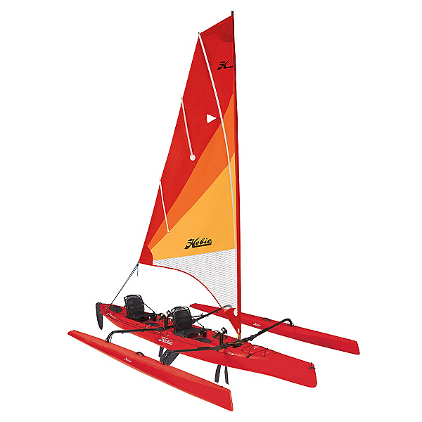 Hobie Mirage Tandem Island Pedal Kayak 2020, Hibiscus, 600