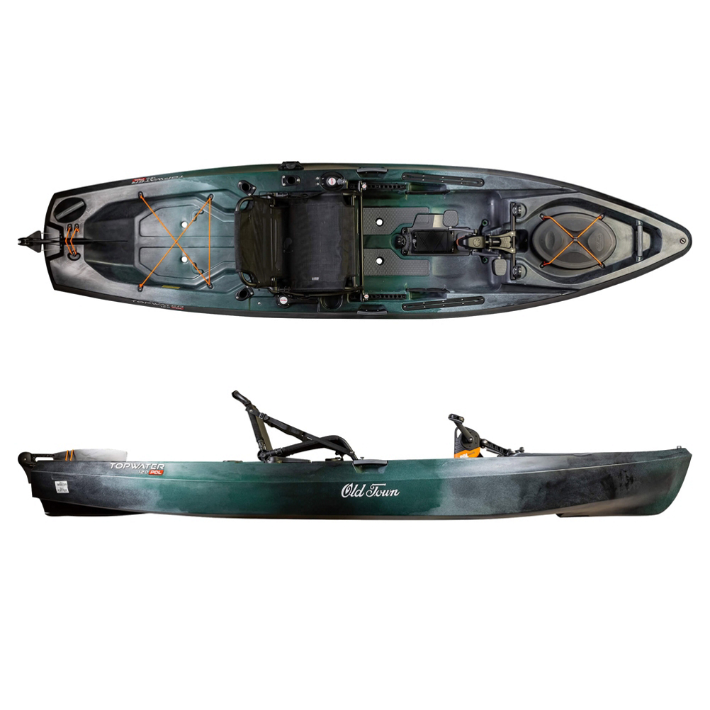 Old Town Topwater 120 PDL Kayak 2020 im test