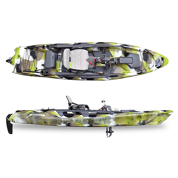 Feelfree Dorado 125 Overdrive Kayak 2022, Lime Camo, 600