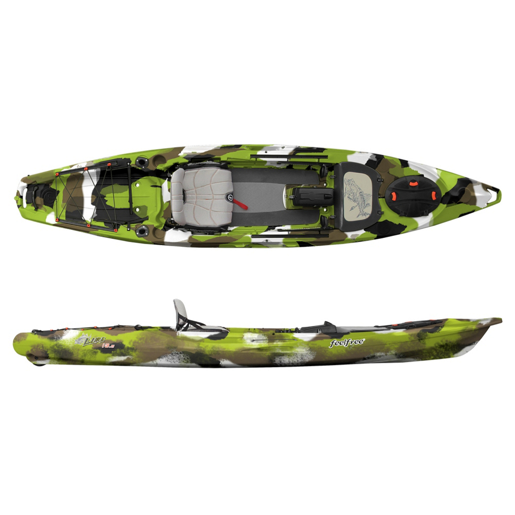 Feelfree Lure 13.5 Version 2 (V2) Kayak 2020 im test