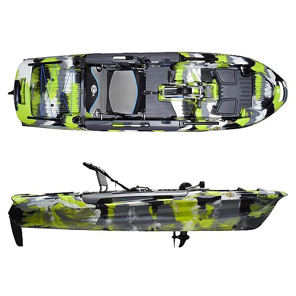 Feelfree Big Fish 108 Pro Fish PDL Kayak 2020, Green Camo, 600
