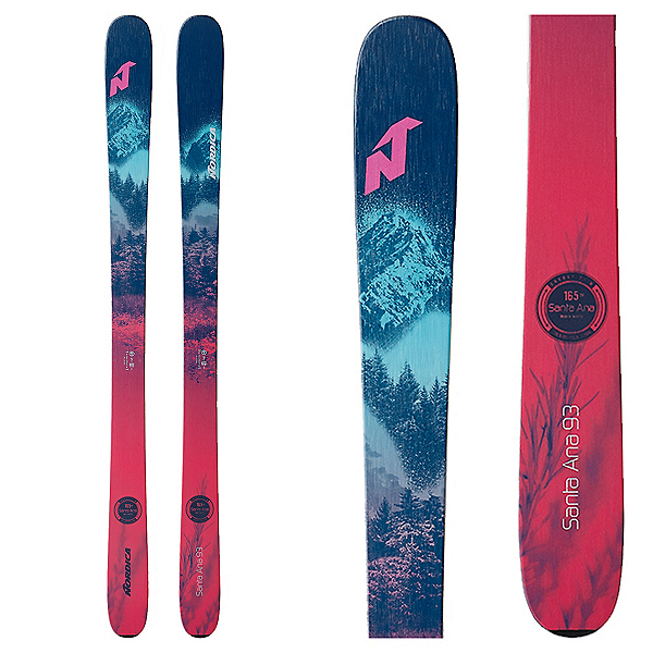 Nordica Santa Ana 93 Womens Skis 2021, , 600