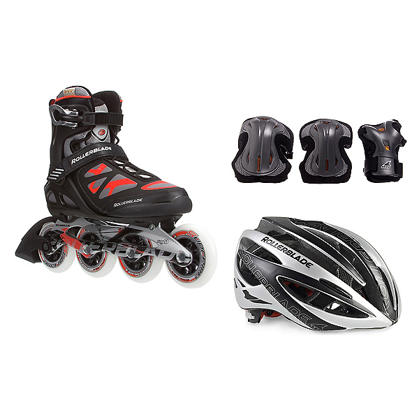 Rollerblade Macroblade 90 with Lux Plus 3 Pad Pack, , 600