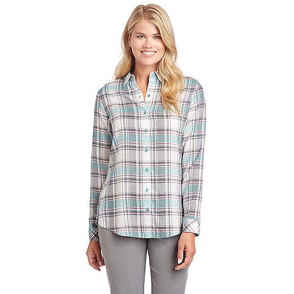 KUHL Lexi Long Sleeve Womens Shirt, Jade, 600