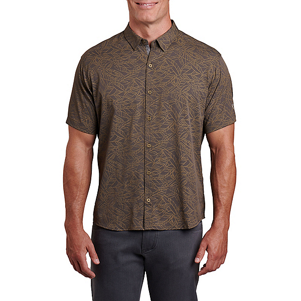 KUHL Repose S/S Mens Shirt, Toasted Pecan, 600