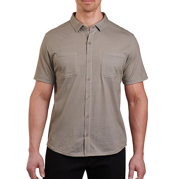 KUHL Innovatr Herringbone Mens Shirt, Spanish Moss, 600