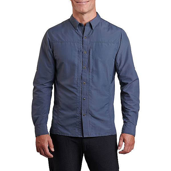 KUHL Reflectr Long Sleeve Mens Shirt, Midnight, 600