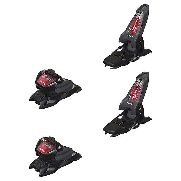 Marker Griffon 13 ID Ski Bindings, Anthracite-Black-Red, 600