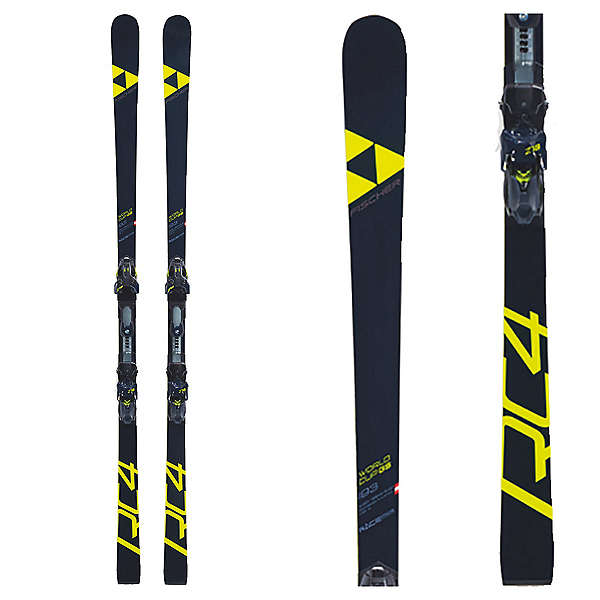 Fischer RC4 WC GS Curv Boost Men's Race Skis with NA Bindings, , 600