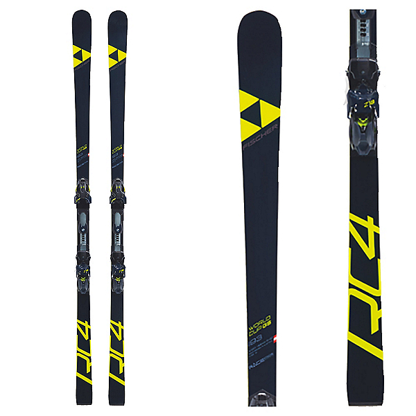 Fischer RC4 WC GS Curv Stiff Women's Race Skis with NA Bindings 2019, , 600