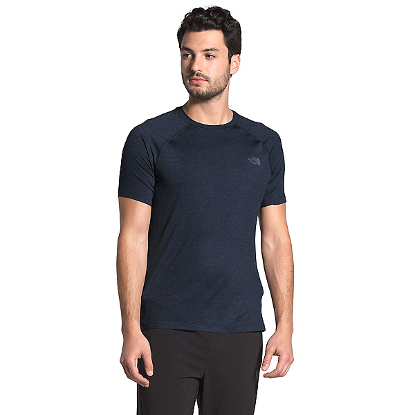 The North Face HyperLayer FD Short Sleeve Mens Shirt (Previous Season) 2020, Urban Navy Heather, 600