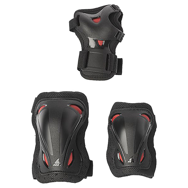 Rollerblade Skate Gear Jr Three Pad Pack, , 600