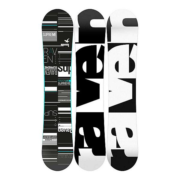 RAVEN Supreme Black Mint Womens Snowboard, , 600