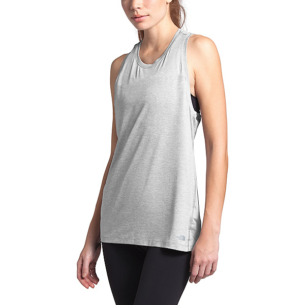 The North Face HyperLayer FD Womens Tank Top, TNF Light Grey Heather, 600