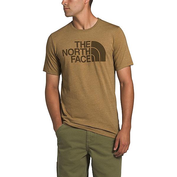 The North Face Half Dome Tri-Blend Mens T-Shirt, British Khaki Heather, 600