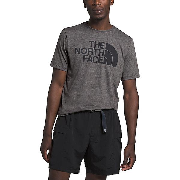 The North Face Half Dome Tri-Blend Mens T-Shirt (Previous Season) 2020, TNF Dark Grey Heather, 600