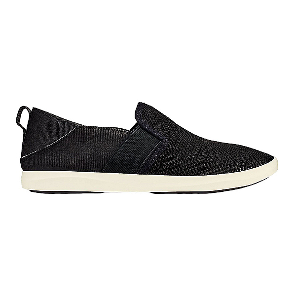 OluKai Hale'iwa Womens Shoes, Black-Black, 600