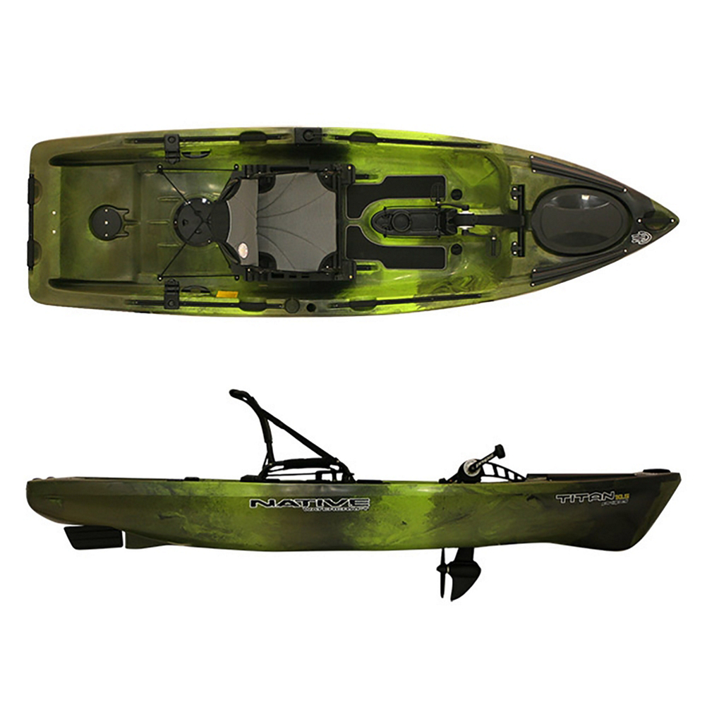 Native Watercraft Titan Propel 10.5 Kayak 2020 im test