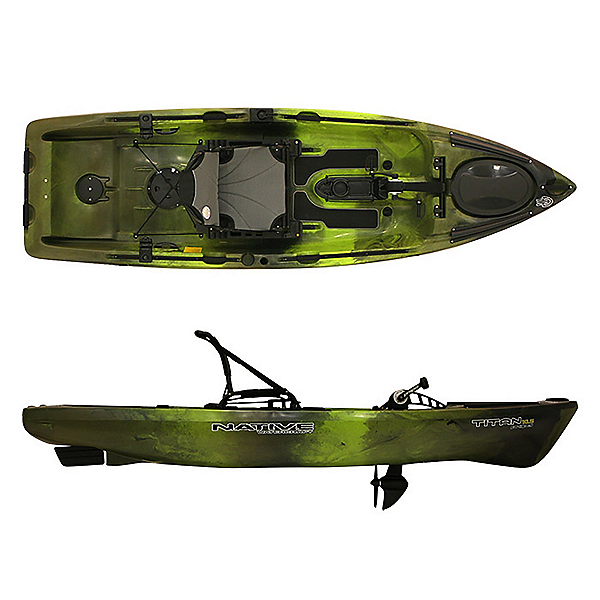 Native Watercraft Titan Propel 10.5 Kayak 2020, Lizard Lick, 600