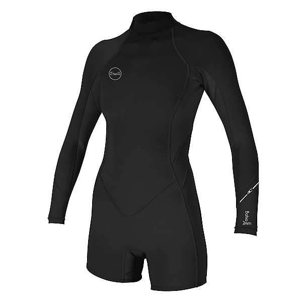O'Neill Bahia Spring 2/1 Back Zip Womens Shorty Wetsuit 2020, , 600