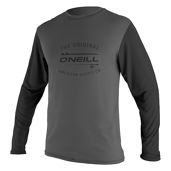 O'Neill Limited UV Long Sleeve Mens Rash Guard 2020, , 600