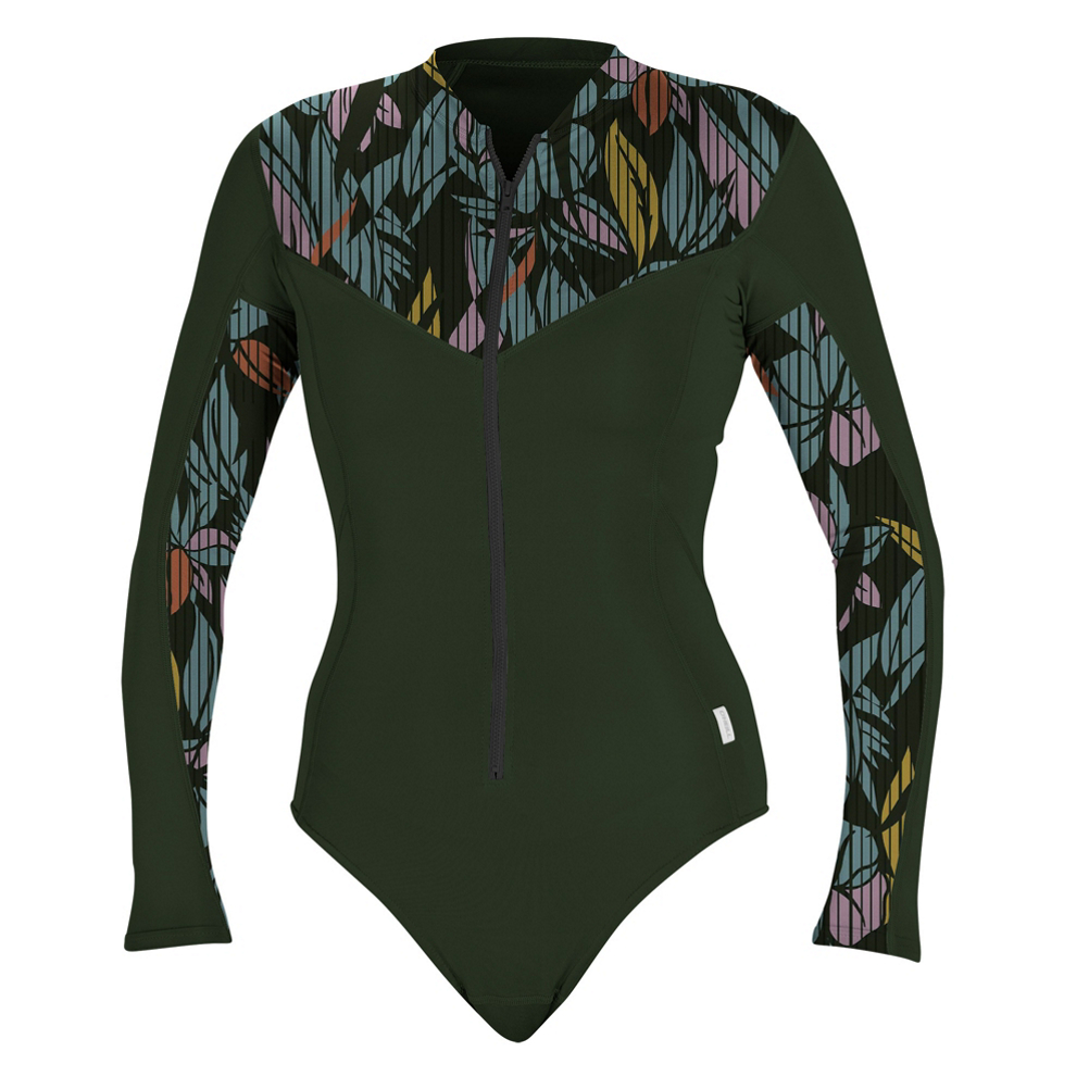 O'Neill Front Zip Long Sleeve Womens Surf Suit im test