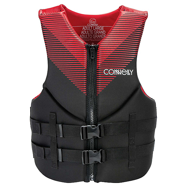 Connelly Promo Neoprene Adult Life Vest 2020, Red, 600