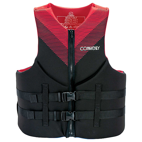 Connelly Promo Neoprene Big & Tall Adult Life Vest 2020, Red, 600