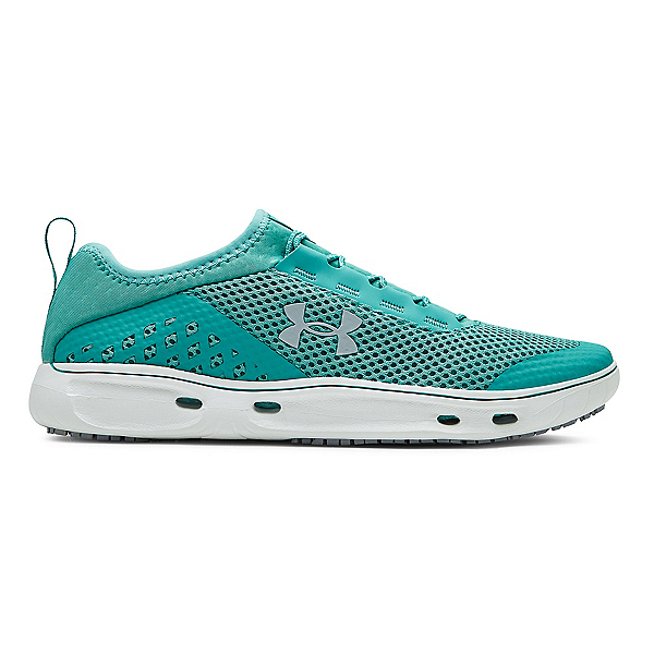Under Armour Kilchis Womens Watershoes, Gravity Green-White-Baroque Gr, 600