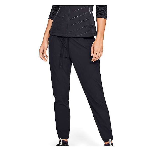 Under Armour Fusion Womens Pants, Black-Pitch Gray, 600