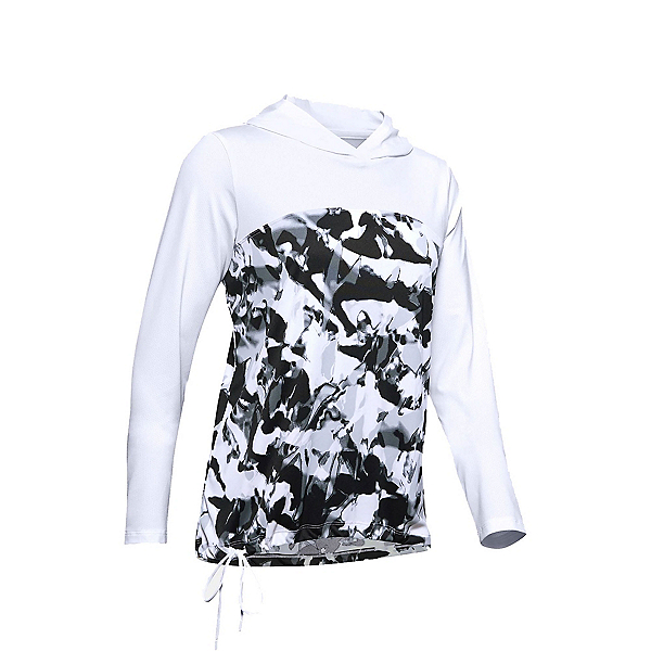 Under Armour Iso Chill Fusion Womens Hoodie, White-White, 600