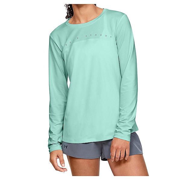 Under Armour Iso Chill Shore Break Long Sleeve Womens Shirt 2020, , 600
