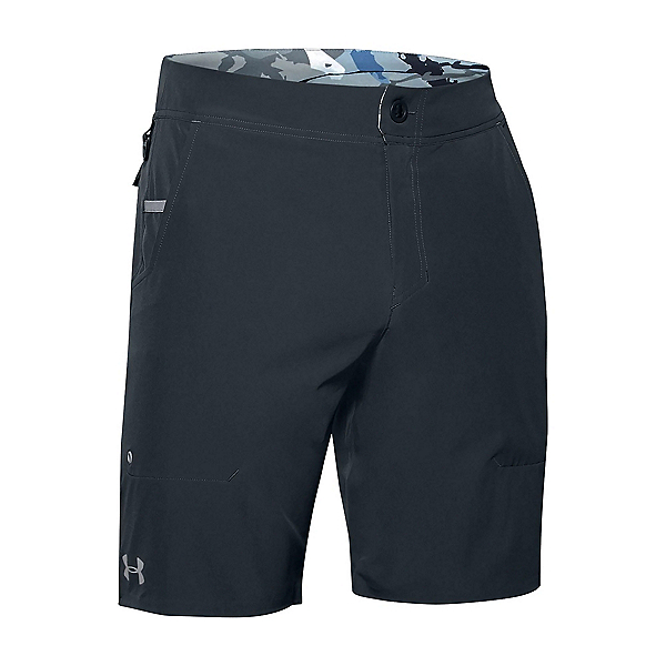 Under Armour Shoreman Mens Board Shorts, Stealth Gray-Steel, 600