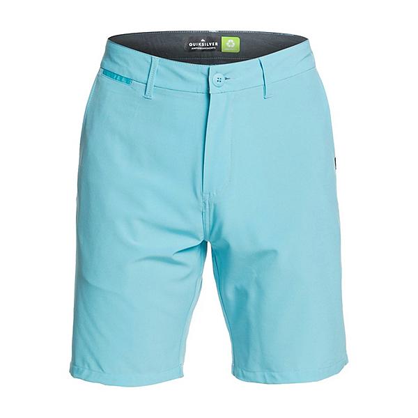 Quiksilver Union Amphibian Mens Hybrid Shorts, Pacific Blue, 600