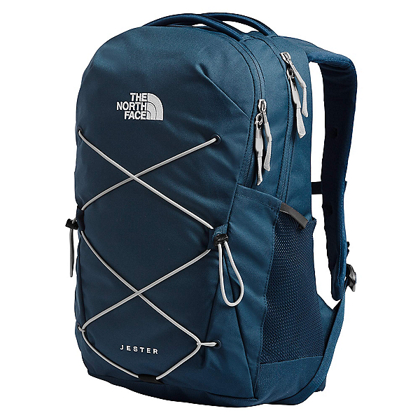 The North Face Jester W Backpack, Blue Wing Teal-Tin Grey, 600