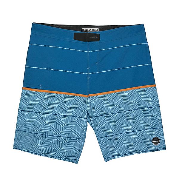 O'Neill Hyperfreak Hydro Wanderer Mens Board Shorts 2020, Brilliant Blue, 600