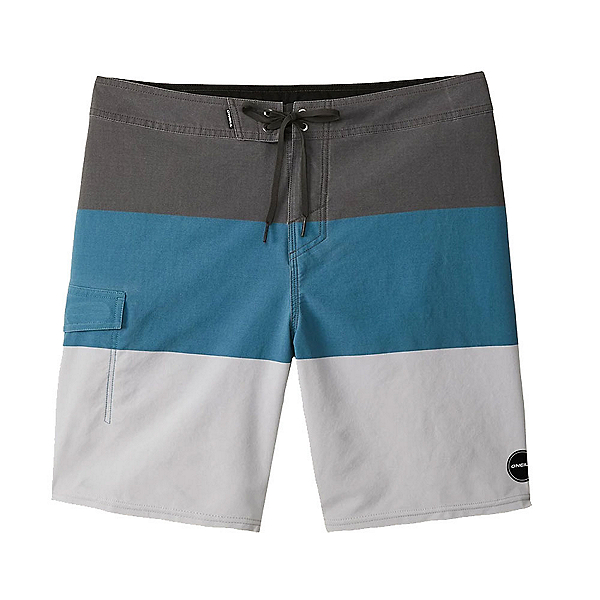 O'Neill Hyperfreak Blockade Mens Board Shorts 2020, Ocean, 600