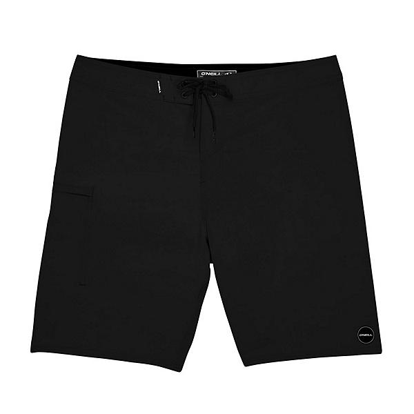 O'Neill Hyperfreak Solid Mens Board Shorts, Black, 600