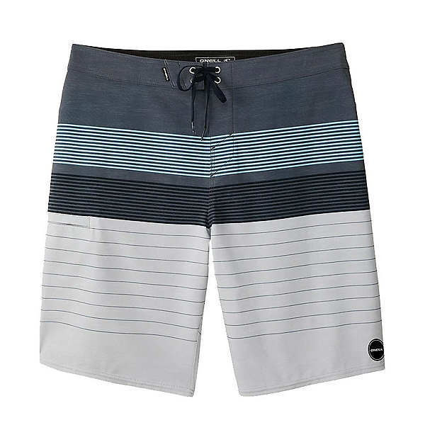 O'Neill Hyperfreak Heist Mens Board Shorts 2020, Grey, 600