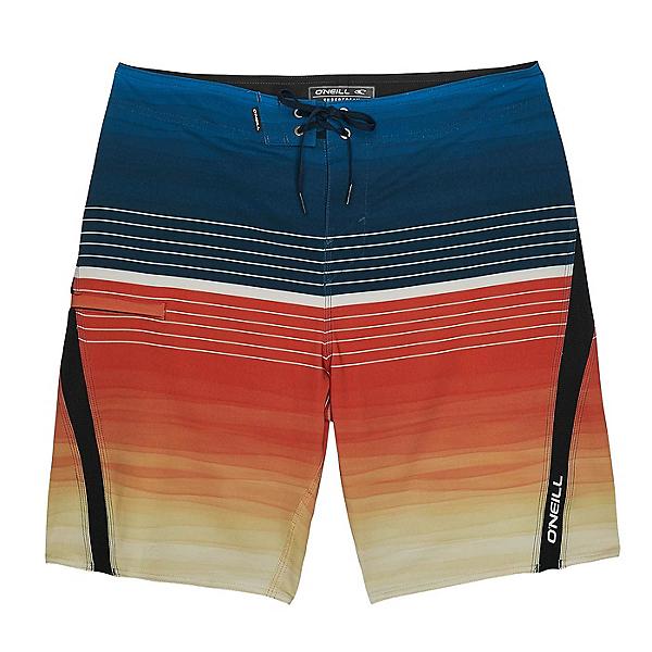O'Neill Superfreak Backwash Mens Board Shorts, Brilliant Blue, 600