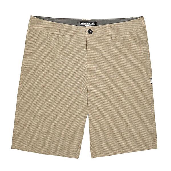 O'Neill Locked Stripe Mens Hybrid Shorts, Khaki, 600