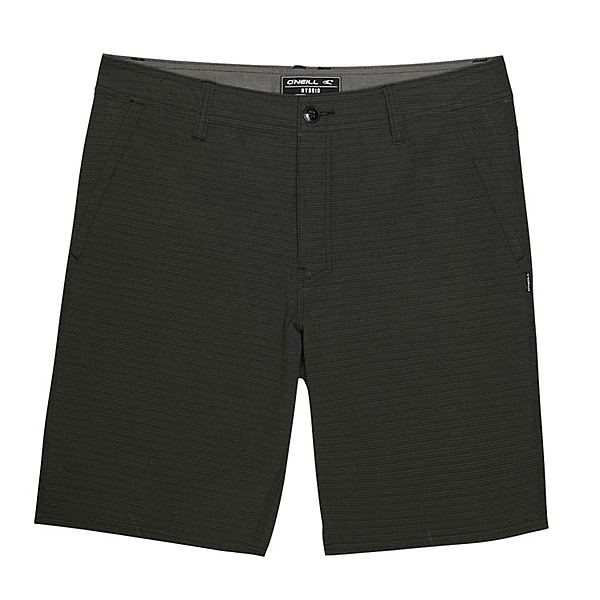 O'Neill Locked Stripe Mens Hybrid Shorts 2020, Black, 600