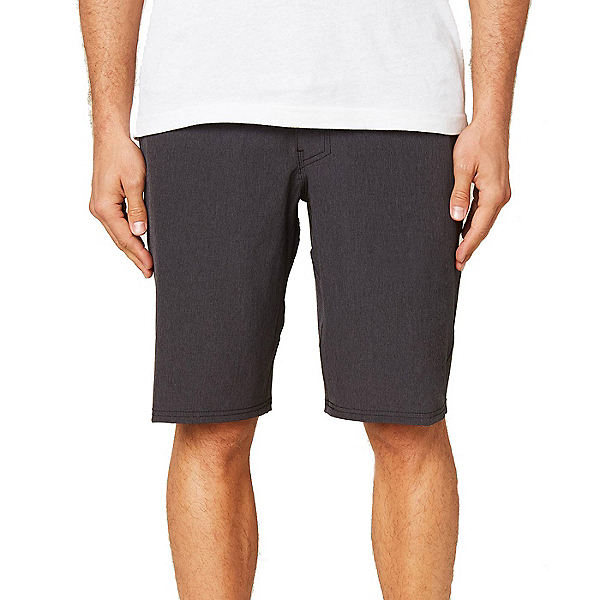 O'Neill Reserve Heather 21in Mens Hybrid Shorts, Black, 600