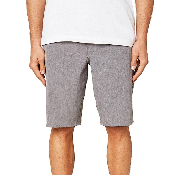 O'Neill Reserve Heather 21in Mens Hybrid Shorts 2020, Grey, 600