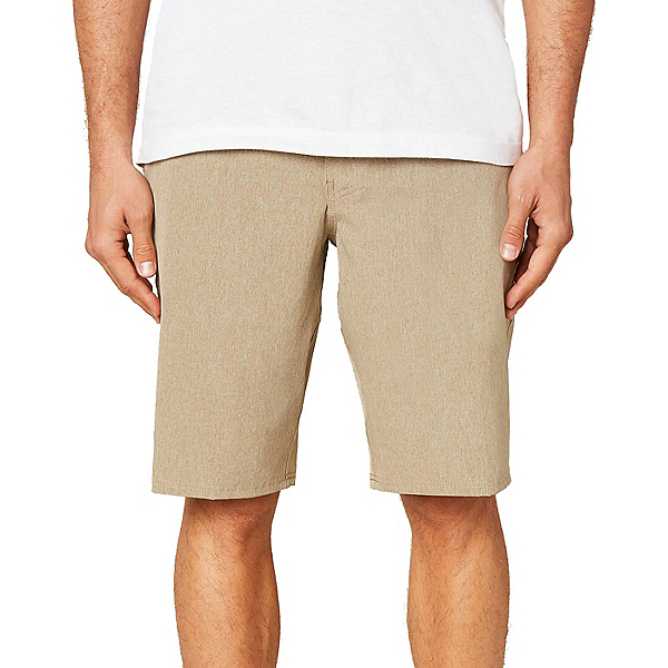 O'Neill Reserve Heather 21in Mens Hybrid Shorts, Khaki, 600
