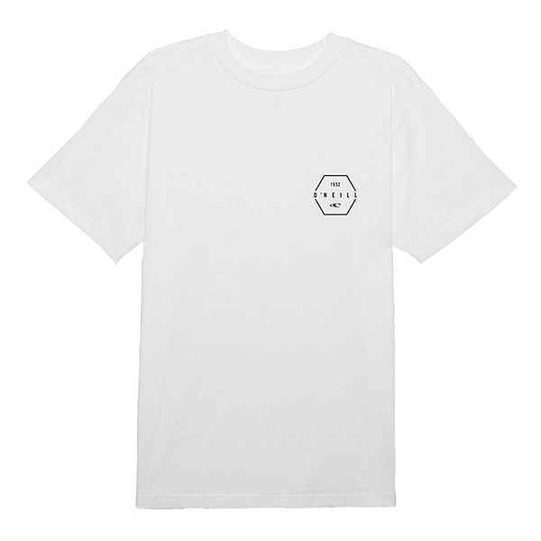 O'Neill Phil Tee Mens T-Shirt, White, 600