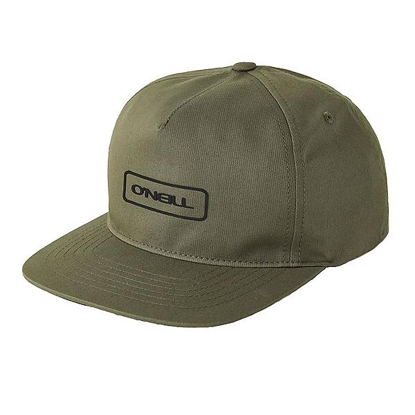 O'Neill Hybrid Snapback Hat, Army, 600