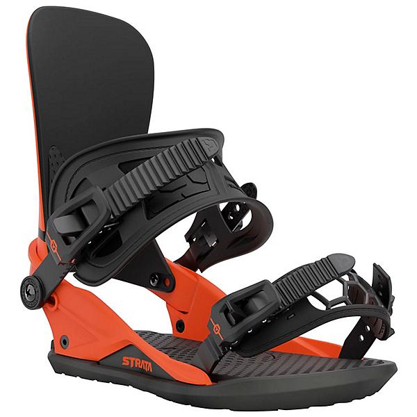 Union Strata Snowboard Bindings, Union Orange, 600