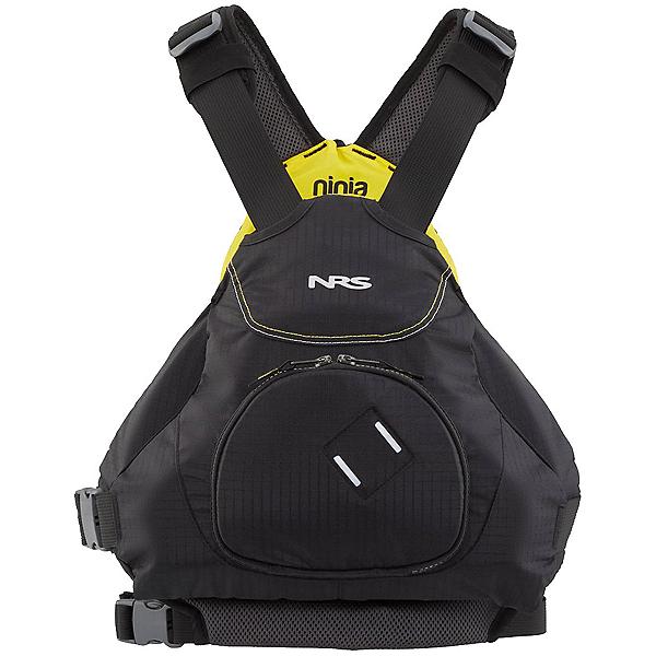 NRS Ninja Adult Kayak Life Jacket 2020, Black, 600
